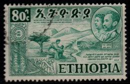 ~~~ Ethiopie 1952  - Eritrea And Ethiopie - Mi. 323 (o) - Cat. 4.50 Euro ~~~ - Äthiopien
