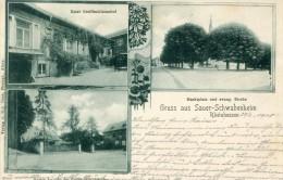 Allemagne GRUSS AUS SAUER SCHWABENHEIM     - G - Allemagne