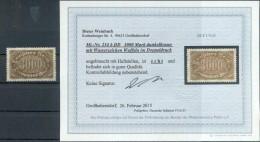 DR-Infla 254bDD DOPPELDRUCK* BPP BEFUND 80++EUR (G8811 - Deutschland