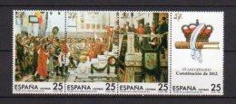 ESPAGNE    Neuf **   Y. Et T.    N° 2502 / 2505       Cote: 2,00 Euros - 1981-90 Ungebraucht