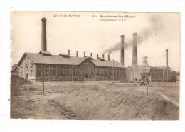 CPA : 71 - Montceau Les Mines : Compresseur D'air - Montceau Les Mines