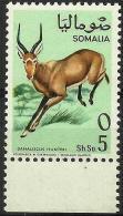 SOMALIA - 1968 Antelopes (Hunter´s Hartebeest) 5s MNH **        SG 484  Sc 334 - Somalia (1960-...)
