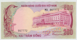 Vietnam South 200 Dong 1972 Pick32 AUNC - Vietnam