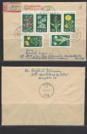 DDR - RECO-Beleg Mi-Nr. 1456 - 1461 Geschützte Heimische Pflanzen (2) - [6] Democratic Republic