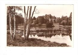 CPA 78 SAINT LEGER EN YVELINES - CHATEAU DE PLANET: Plan D'eau - Château   Vue Peu Commune - St. Leger En Yvelines