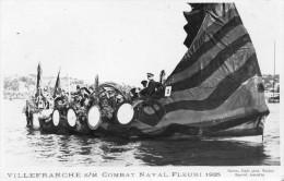 CPA - (06) VILLEFRANCHE - Le Combat Naval Fleuri De 1935 - Villefranche-sur-Mer