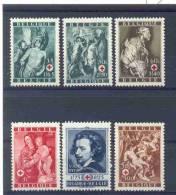 BELGIE - OBP Nr 647/652 - Rode Kruis/Croix-Rouge - MNH** - Cote 4,20 € - Belgium