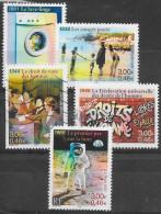 SERIE  N° 3351   A 3355   FRANCE  -  AU FIL DU TEMPS   -  OBLITERE  2000 - Frankreich