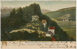 Margarethenkapf Bei Feldkirch Edit Hermann Steck  P. Used 1902 - Feldkirch