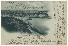 Whitby Short Size Card  P. Used 1900 - Whitby