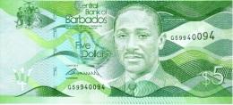 5 Dollars 2013 - Barbados