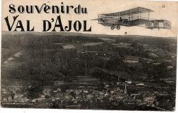 Souvenir Du Val D'ajol Avion Ecrite En 1918 Edition Daubie Bazar - Frankrijk