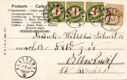 SUISSE. Carte Postale De La Suisse De 1903. Carte Taxée. - Taxe