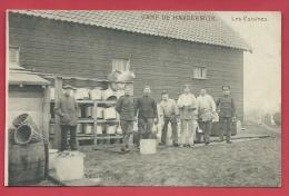 Interneeringskamp Bij Harderwijk ( Nederland ) -Belgische Militairen/ Militaire Belges - Les Cuisines ( Verso Zien ) - Harderwijk