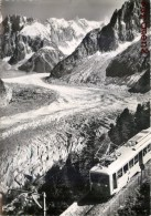 CHAMONIX-MONT-BLANC TRAIN DE LA MER DE GLACE GRANDES JORASSES TRAMWAY 74 - Chamonix-Mont-Blanc