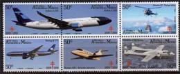MEXIQUE.Histoire De L´Aviation Mexicaine (Airbus A330,Helicoptere Alouette III,Boeing B-777,Hawker 400,etc - Avions