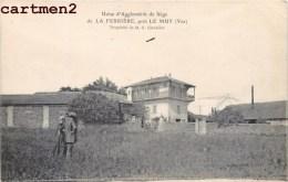 USINE D'AGGLOMERES DE LIEGE DE LA FERRIERE PRES LE MUY PROPRIETE DE M. CLAVELIER 83 VAR - Le Muy