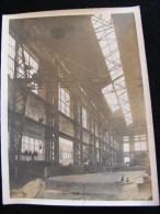 Photo 24 X18 Cm Circa 1920 Chantiers Ateliers Gironde Bordeaux Grue De 5000Kg  NW43 - Professions
