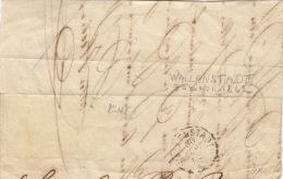 Ganz Altes Stempel Aus Wallenstadt, 30 Sept. 1862 Auf Bogenbrief - Postmark Collection