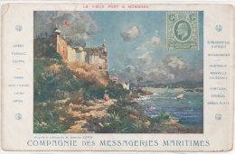 Compagnie Des Messageries Maritimes - Le Vieux Port A Mombasa (Maurice Levis)   (76616) - Publicité