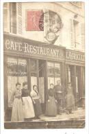 EVREUX - Café-Restaurant De L'Agriculture - CARTE-PHOTO (voir Mention En Bas) - Evreux
