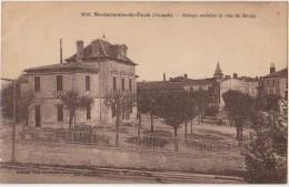 CPA 33 SAINT GERMAIN DU PUCH Ecole Groupe Scolaire 1930 - Frankrijk