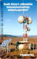 South Africa - SAF-TR-03, Transtel, Microwave Tower SA-9308-5, 5000ex, 1993, Used As Scan (Marks) - Suráfrica