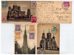 4 Cartes Vues Diverses - Latvia