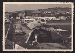 Camping Ou ? - Voiture - Citroën DS -  Simca  Aronde - Versailles - Caravane -  éditeur Gevaert - Correspondance 17/8/64 - Postcards