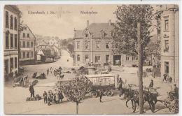 GERMANY - EBERSBACH I. SA. - MARKTPLATZ - 1910s / 1920s - Allemagne