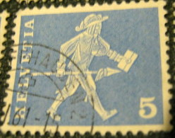 Switzerland 17th Century Cantonal Messenger From Fribourg 5c - Used - Switzerland