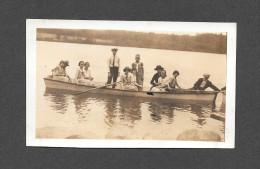 VRAIS PHOTO POSTCARD - PHOTO CABINET - AROUND 1940 - DÉVELOPPÉ ET IMPRIMÉ PAR A.A. TREMBLAY CÔTE D'ABRAHAM QUÉBEC - Photographie