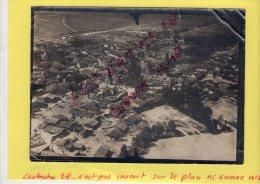 Photo   Aérienne  De SUIPPES SUIPPE (80)  Photo Prise  D'avion  -- 14-18  AVRIL 2015  67 - Guerre, Militaire
