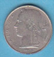 LOT N° 00135  *BELGIQUE*5 FRANCS*BAUDOUIN*CERES*197 0 (FR) - 1951-1993: Baudouin I