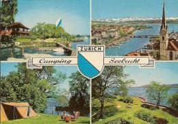 CPA-1970-SUISSE-ZURICH-CAMPING SEEBUCHT-MULTIVUES-TBE - ZH Zurich