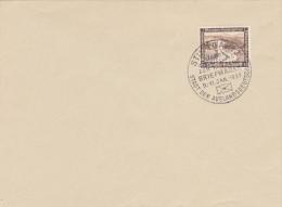 Stuttgart - Briefmarke 9-11 Jan 1937 München Reichsgrenze (634) - Germany