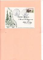 15193  Carte Avec Cachet Commémoratif - Marcophilie (Lettres)