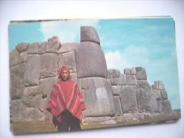 Peru Cuzco  Fortaleza De Sacsayhuaman - Peru