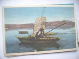 Peru Puno Balsas De Los Indios El Lago Titicaca - Peru