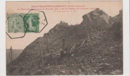 CPA - Hartmannwillerkopf (Vieil Allemand) Le Sommet Entièrement Dévasté Qui A été Le Théatre De Violents Combats - France