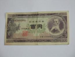 100 Yen 1953 - JAPON - Nippon Ginko ****EN ACHAT IMMEDIAT **** - Japan