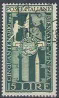 ITALIA REPUBBLICA - US 1949 (CATALOGO N.° 595) (2753) - 6. 1946-.. Repubblica