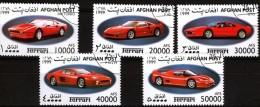 X Afghan Post 1999 - Ferrari 208 TURBO F40 GTO F512M F50 - Automobilismo