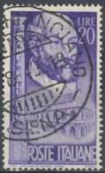 ITALIA REPUBBLICA - US 1949 (CATALOGO N.° 609) (2743) - 6. 1946-.. Repubblica