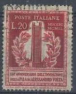 ITALIA REPUBBLICA - US 1949 (CATALOGO N.° 611) (2736) - 6. 1946-.. Repubblica
