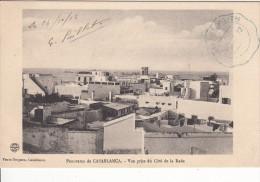 Panorama De CASABLANCA - Vue Prise Du Côté De La Rade Avec Tampon Télégraphe Militaire - Casablanca