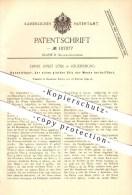 Original Patent - Ernst Josef Löbl In Regensburg , 1899 , Hosenträger , Der Einen Glatten Sitz Der Weste Herbeiführt !!! - Historische Dokumente