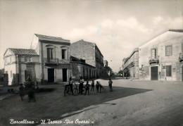 BARCELLONA POZZO DI GOTTO (ME) IL TRONCO VIA OPERAI 1955 - Messina