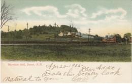 Dover New Hampshire, Garrison Hill, C1900s Vintage Postcard - Dover