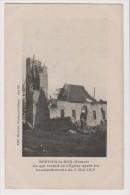 Carte Postale - Seppois-le-Bas - Ce Qui Reste De L'église Après Les Bombardements Du 5 Mai 1916 - France